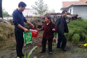 奇斯盾科技有限公司组合公司员工到肇庆市广宁县贫困村开展扶贫救助活动